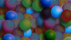 Abstract Balls Picture