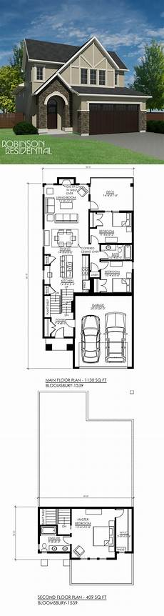 bungaloft house plans tudor bloomsbury 1539 robinson plans house plans