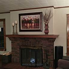 best paint color for dark trim brick fireplace sherwin williams balanced beige m