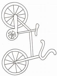 image vélo à imprimer dessin de vtt