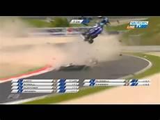 Formula 3 Teeter Li Piquet Horror Crash Flag