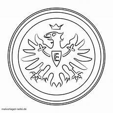 Fussball Ausmalbilder Eintracht Frankfurt Wappen Vorlage Zum Ausmalen Aausmalbilder Club