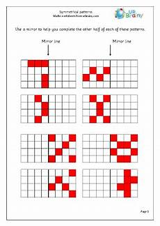 year 2 maths symmetry worksheets symmetry 2 measurement maths worksheets for year 2 age 6 7