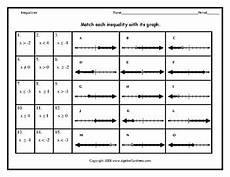 graphing inequalities worksheet bundle by algebra funsheets tpt