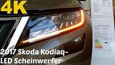 2017 skoda kodiaq led scheinwerfer 4k