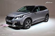 Photo 3 4 Avant Peugeot 3008 Ii Gris Artense
