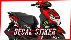 Yamaha Freego Modifikasi by Kumpulan Modifikasi Decal Stiker Yamaha Freego 2019