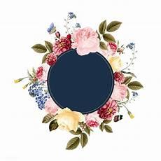 flower card design template premium vector of blank floral frame card