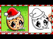 How To Draw A Cookie  Cute And Easy Fun2draw