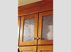Wall Cabinet Cut for Glass   Aristokraft Cabinetry