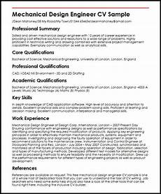 curiculum vitae mechanical design enginer mechanical engineering resume ipasphoto