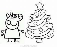 Peppa Wutz Ausmalbilder Weihnachten Peppa Wutz Ausmalbild Weihnachten Kinder Ausmalbilder