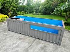 Above Ground Pools Converting A Shipping Container