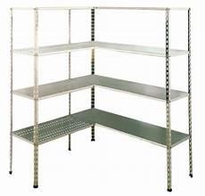 scaffale inox scaffale in acciaio inox aisi 304 con 4 piani 100x40