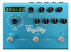 big sky reverb strymon big sky reverb pedal rainbow guitars