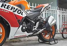 Modifikasi Spakbor Belakang Cbr150r by Modifikasi Honda Cbr150r Pakai Knalpot Kawasaki Z1000