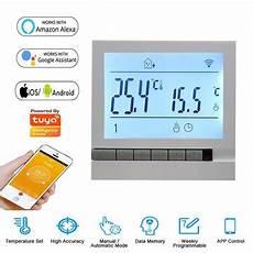 Minco Heat Programmable Smart Thermostat Digital by Minco Heat Mk71 Smart Wifi Thermostat Lcd Display Screen