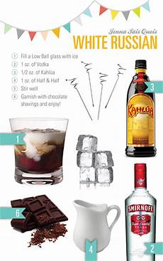 4 white russian recipes from the dude little lebowski