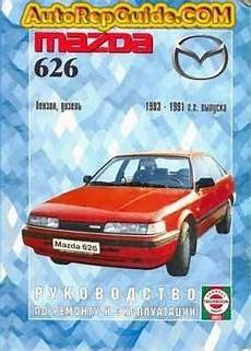car owners manuals free downloads 1991 mazda 626 parking system download free mazda 626 gasoline diesel 1983 1991 repair manual and operation image by