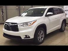 2016 Toyota Highlander Le Convenience Package Review