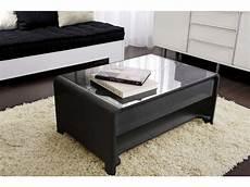 table basse rectangulaire avec plateau relevable duna