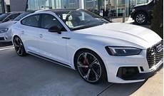2019 audi s5 sportback white 2019 rs5 with black optic audi