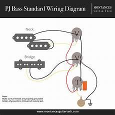 precision jazz bass wiring diagram montances guitar tech