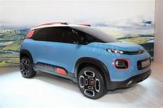 Citroen S C Aircross Concept Is Basically The New C3