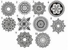 Mandala Klein - 45 best mandala tattoos designs
