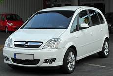File Opel Meriva A 1 8 Cosmo Facelift Front 2 20100716 Jpg