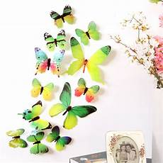butterfly home decor 5 colors diy 3d stickers wall stickers butterfly home
