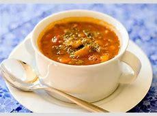 chunky vegetable lentil soup  gluten free  vegan_image