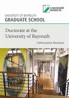 Of Bayreuth Graduate School Home