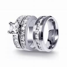 mens and womens matching wedding rings 15 collection of men and wedding bands sets