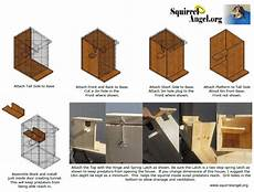 squirrel houses plans squirrel house plans