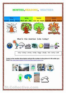 seasons and weather worksheets 2nd grade 14864 month seasons weather worksheet free esl printable worksheets made by teachers 4 seasons