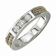 25th anniversary rings for men women 25th wedding