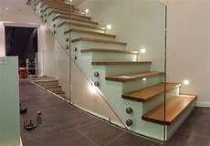 Treppengeländer Innen Glas - sonderanfertigungen aus glas glaserei kraus in
