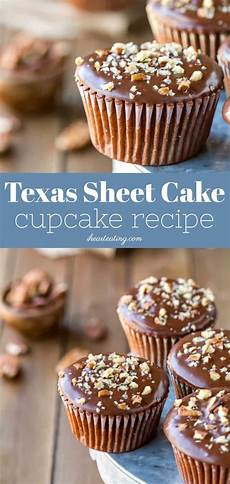 texas sheet cake cupcakes recipe cupcake recipes cupcake cakes cake recipes