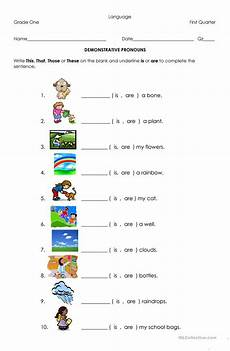 demonstrative pronouns worksheet free esl printable worksheets made by teachers