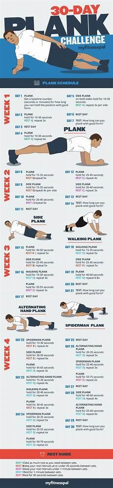 plank plan the 30 day plank challenge myfitnesspal