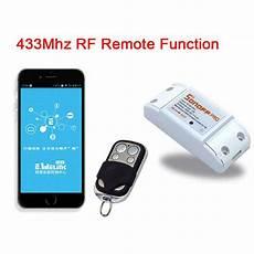 sonoff wireless 433mhz wifi smart switch remote control