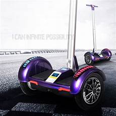 scooter permanent hoverboard avec guidon scooter
