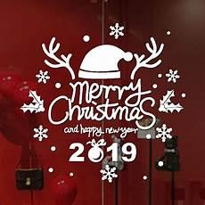 aliexpress com buy new stickers for window 1pc merry christmas 2019 sticker home shop