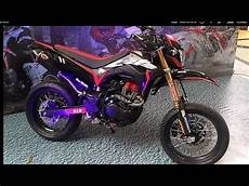 Modif Crf Supermoto by Review Modif Supermoto Dan Test Drive Honda Crf 150l