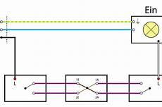 licht wechselschaltung 3 schalter wiring diagram