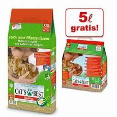 Katzenstreu Cats Best - cats best katzenstreu g 252 nstig bei zooplus