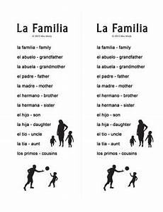 la familia worksheet in spanish la familia spanish family crossword puzzle worksheet by miss mindy