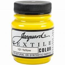 jacquard textile color fabric paint 2 25oz yellow textile