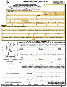 application for a u s passport form ds 11 2010 u s government bookstore